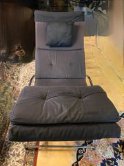 SWECCO chrom Designer Relaxsessel Relax-