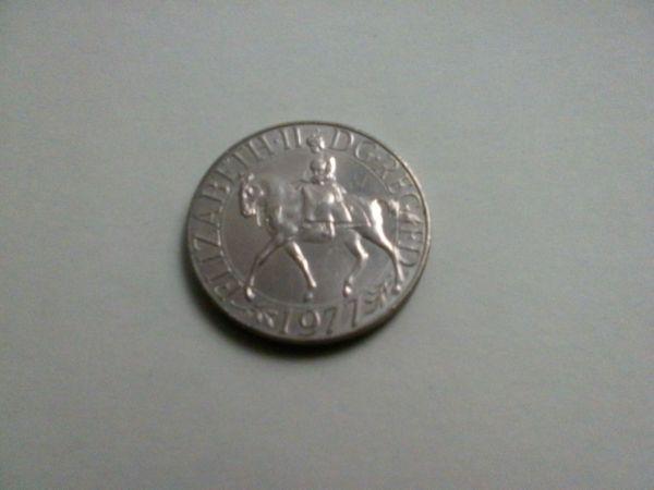 Silbermünze Elizabeth II