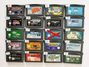 Nintendo Gameboy Advance Spiele BITTE