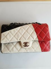 Original limitierte Chanel Tasche Double