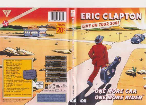 Musik - DVD Eric Clapton - One