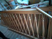 Treppengitter aus Holz