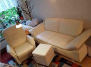 Napa Leder Sofa Sessel mit
