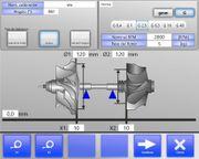 Turbolader-Auswuchtmaschine von CIMAT für Wellen
