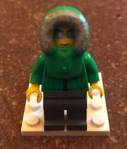 Lego Minifigur Ice Fisherman cty0252