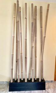 Bambusrohre Natur