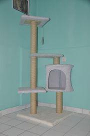 Katzenkratzbaum handgefertigt