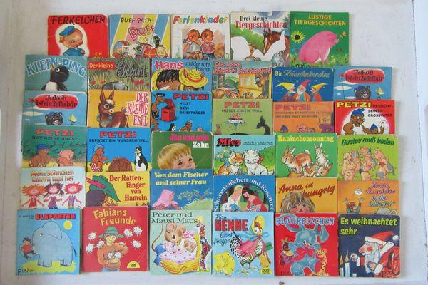 35 PIXI Bücher