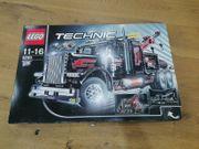 LEGO Technic Großer Schwarzer Abschlepptruck