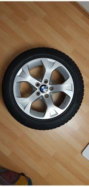 Winterreifen auf Alufelge für BMW