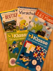 Lernbücher Vorschule Grundschle 1 - 3