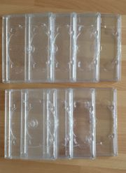 DVD Leerhüllen 8 Stück leichte