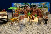 Playmobil Safari Geländewagen und Afrikanische