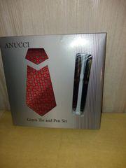 Set Krawatte mit zwei Kugelschreibern