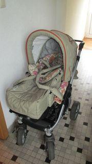 Kinderwagen Teutonia Cosmo Kombi-Kinderwagen mit
