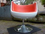 Cocktailsessel Drehstuhl 70er Jahre-Design