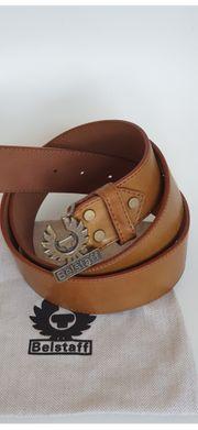 Unisex Belstaff Gürtel Ledergürtel Braun
