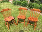 Kiefer Massivholz Stühle 6 Stühle