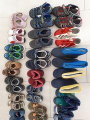 Kinderschuhe Schuhgröße zwischen 20 und