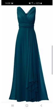 Abendkleid lang Gr 40