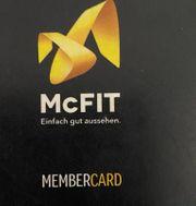 2 einmonatige McFit Gutscheine
