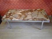 Tisch schwer Naturstein Antik Alt
