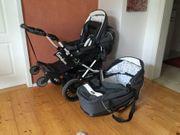 Kinderwagen von Emmaljunga mit Babyeinsatz