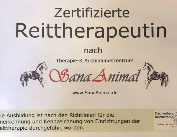 Reittherapie