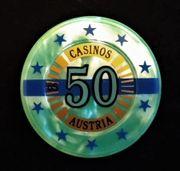 50 Schilling Casino Austria Jeton