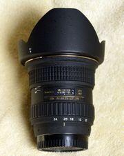 Tokina Weitwinkel-Zoom 12-24 mm für