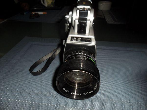 Cosina SM-2000 mit Filmleuchte