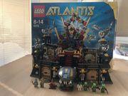 LEGO Atlantis 8078 - Große Haifestung