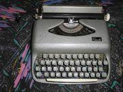 Schreibmaschine Carola 70 er Jahre