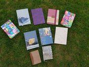 Tagebücher Notizbücher neu aus Auflösung