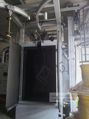 Automatische Hängestrahlanlage Schleuderrad-Strahlanlage neu