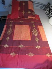 Mako Satin Bettwäsche Komfortgröße 155cmx220cm