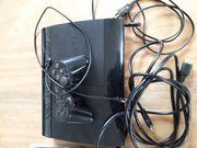 Playstation 3 mit diversen Spielen