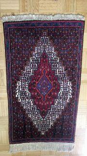 Persischer Senneh Teppich Handgeknüpft 100