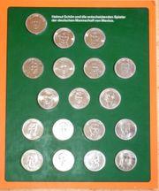 18 Münzen IX Fußball Weltmeisterschaft