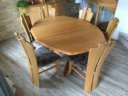 Esszimmer Massivholz Esche ausziehbarer Tisch