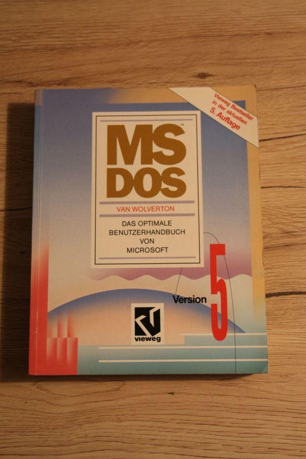 MS DOS 5 0 Benutzerhandbuch