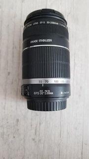 Canon Objektiv EFS 55-250 mm