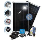 72 Zellen 24V Schindel-Solaranalge MPPT