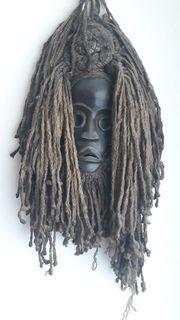 Einzigartige afrikanische Holz-Masken Paket 4