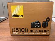 Nikon 5100 mit 2 Objektiven