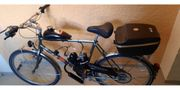 Fahrrad mit Hilsfmotor
