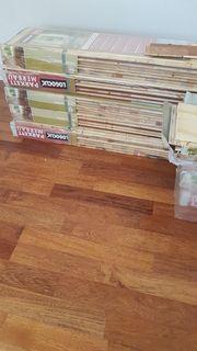 8 qm Parkettboden Farbe Merbau