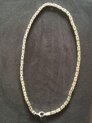 Königskette eckig Silber 925 6x6mm