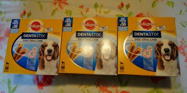 168 Dentastix Mittlere Größe 10-25