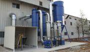 Absauganlagen für Metallstaub Holzstaub Granulat